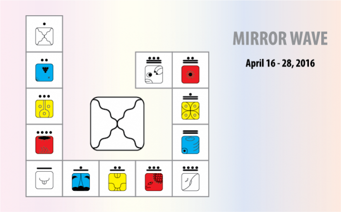 MIRROR WAVE – LOOK AROUND, SEE YOURSELF!