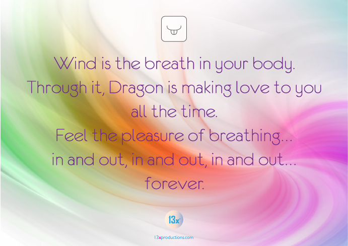 wind is the breath in your body