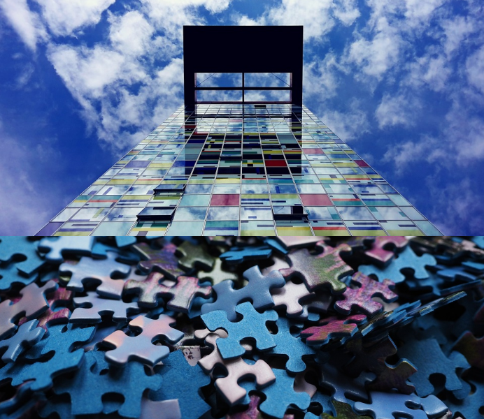 skyscraper jigsaw